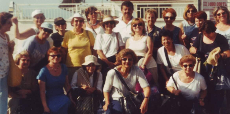 Εκδρομή Μελών ΧΕΝ Γλυφάδας, Μυτιλήνη, 2002