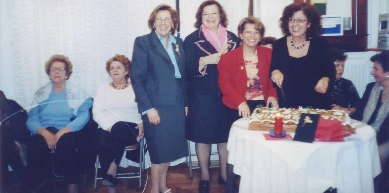 Κοπή Πρωτοχρονιάτικης Πίτας ΧΕΝ Π. Φαλήρου, 2001